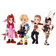 Final Fantasy Trading Arts Vol.3 Figure 4-Pack-Aerith, Tidus, Bathier Fran