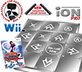 2 x Wii Dance Dance Revolution Limited Edition iON Pro Metal Dance Pad + Dance Dance Revolution DDR