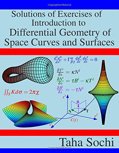 Pdf Math Solutions of Exercises of Introduction to Differential Geometry of Space Curves and Surfaces