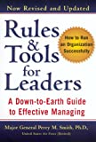 Book cover for Rules & Tools for Leaders