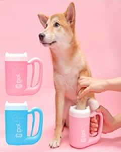 Jiao Gao Cleaning Cup cat Dog paw Silicone Cleaning Brush Foot Cup