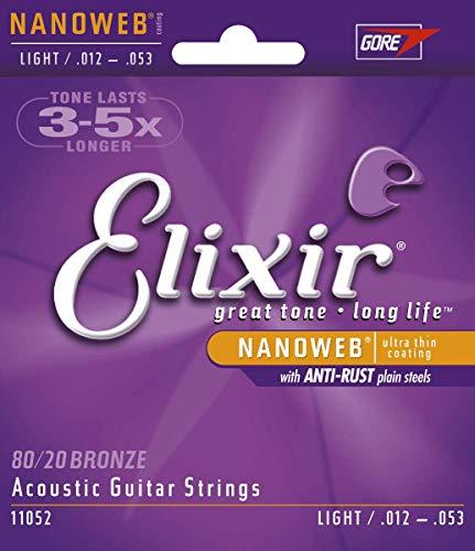 Elixir Strings 80/20 Bronze Acoustic Guitar Strings