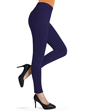 7ea7a6892a Bamans Ultra Stretch Comfy Yoga Pants, Beltloops, Simulated Pockets, Office  Skinny Dress Yoga