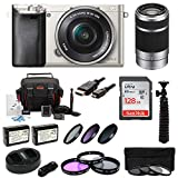 Sony Alpha a6000 24.3 MP Interchangeable Lens Camera Bundle with...