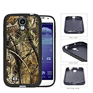 Woods Camo Fall Season Rubber Silicone TPU Cell Phone Case Samsung Galaxy S4 SIV I9500 by icecream design