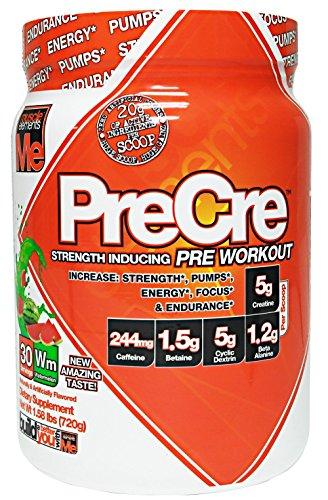 Muscle Elements Precre Diet Supplement, Watermelon, 1.58 Pound by Muscle Elements