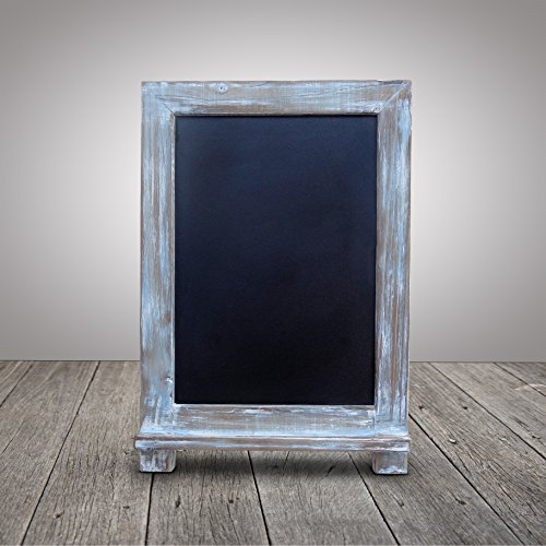 Kitchen Chalkboard White Frame
