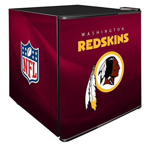 NFL Washington Redskins Refrigerated Counter Top Cooler, Small, Red by SG Merchandising Solution