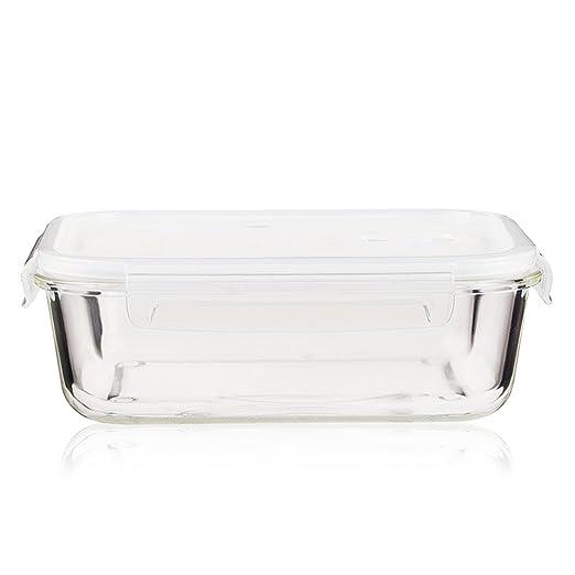 Red de alta capacidad rectangulares de vidrio Pyrex dedicada ...
