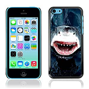 Graphic4You Shark Animal Design Hard Case Cover for Apple iPhone 5C