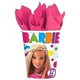 Barbie Sparkle 9oz Cups (8 Pack)