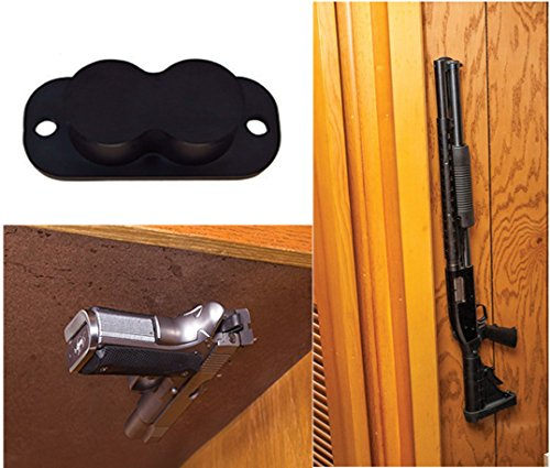 Review Safety Solutions For Gun Storage Gun Magnet Concealed Rifle & Shotgun Magnetic Holder (1 Magnet Holder)