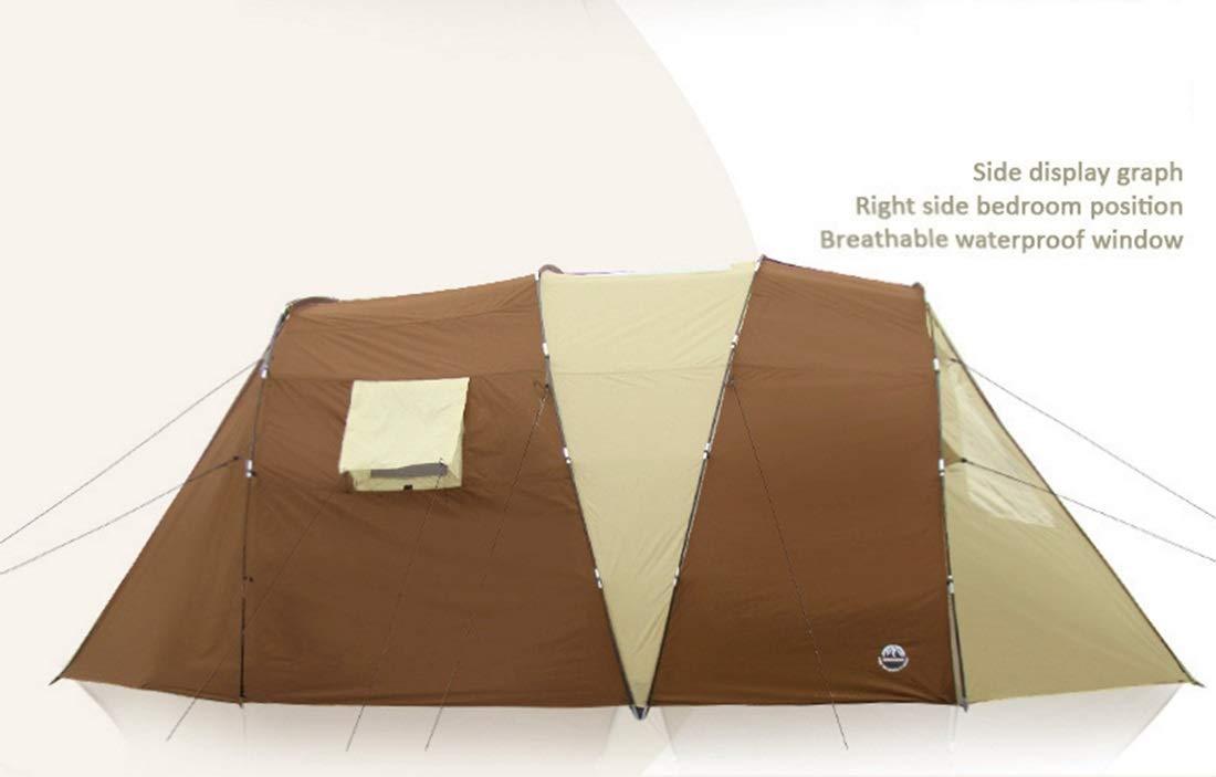 3M Cw Outdoor Zwei-Schlafzimmer-Campingzelt, Mehrfamilie, zweilagig, Anti-Exposure