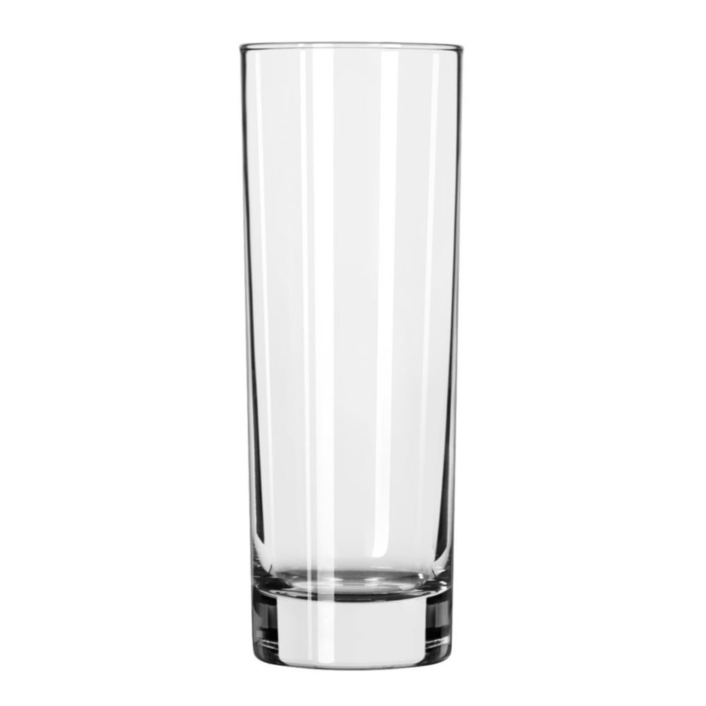 Libbey 2518 Chicago 10.5 Ounce Tall Hi-Ball Glass - 12 / CS