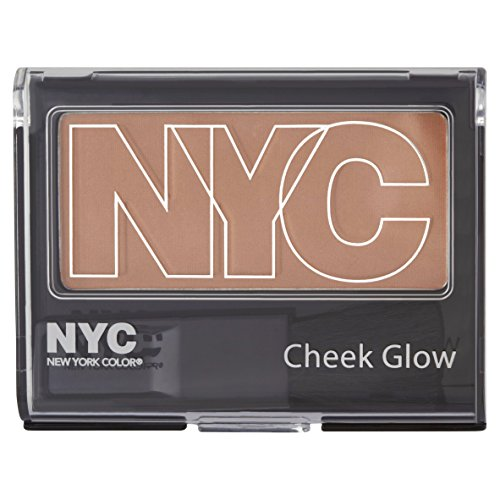 N.Y.C. New York Color Cheek Glow Single Pan Blush, Sutton Place Peach 656A