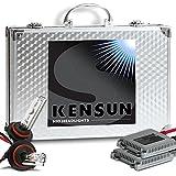 HID Xenon Headlight Conversion Kit by Kensun, 9006, 10000K - 2 Year Warranty