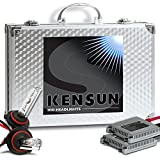 Kensun HID Xenon Conversion Kit 'All Bulb Sizes and Colors' with Premium Ballasts - 9006 (HB4) - 6000k - 2 Year Warranty