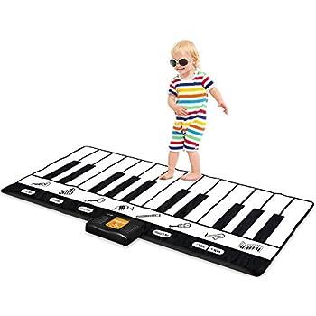 """Keyboard Playmat 71"""" - 24 Keys Piano Play Mat - Piano Mat has Record, Playback, Demo, Play, Adjustable Vol. - Original - By Play22"""