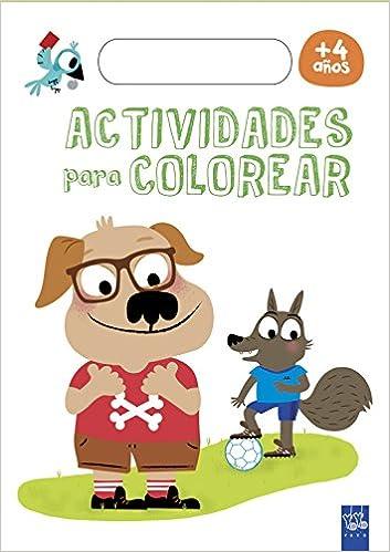 Actividades para colorear +4 (En relieve): Amazon.es: YOYO ...