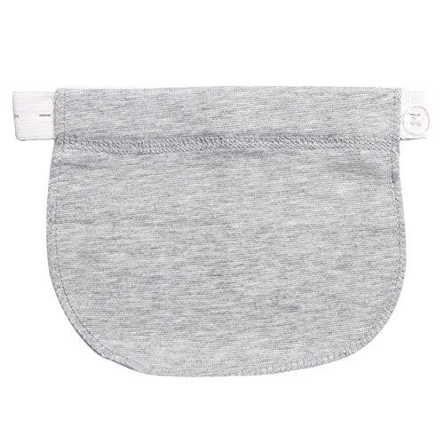 Taille pour Pantalon Bouton de lastique Claire Enceinte Extension Gris Femme Extension Jeans Bouton 6qE8x8