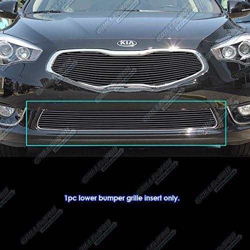 APS Compatible with 2012-2013 Kia Soul Black Lower Bumper Billet Grille Inserts K65962H