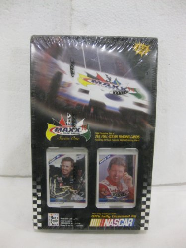 Maxx Race Cards Series 1 1994 Complete 240 Full Color Trading Cards Featuring All Your Favorite Nascar Racing Stars from Cards