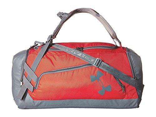 (アンダーアーマー) UNDER ARMOUR ユニセックスダッフルバッグ UA Contain Duo Backpack/Duffel Red/Graphite/Graphite OS