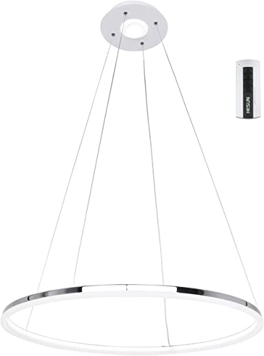 UNITARY Brand Modern Nature White LED Acrylic Pendant Light Remote Control Included
