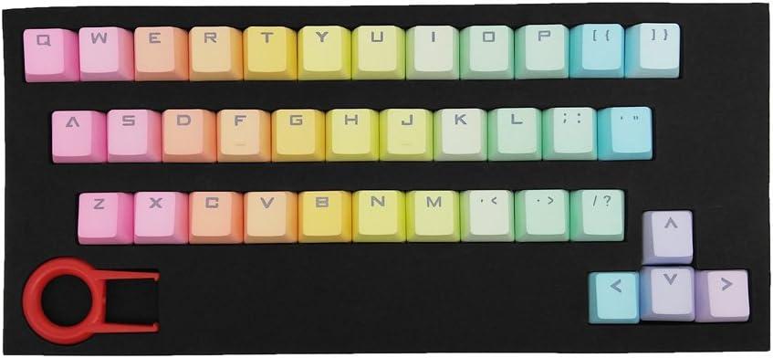 Glitter Doggo V4 Keycap with translucent base