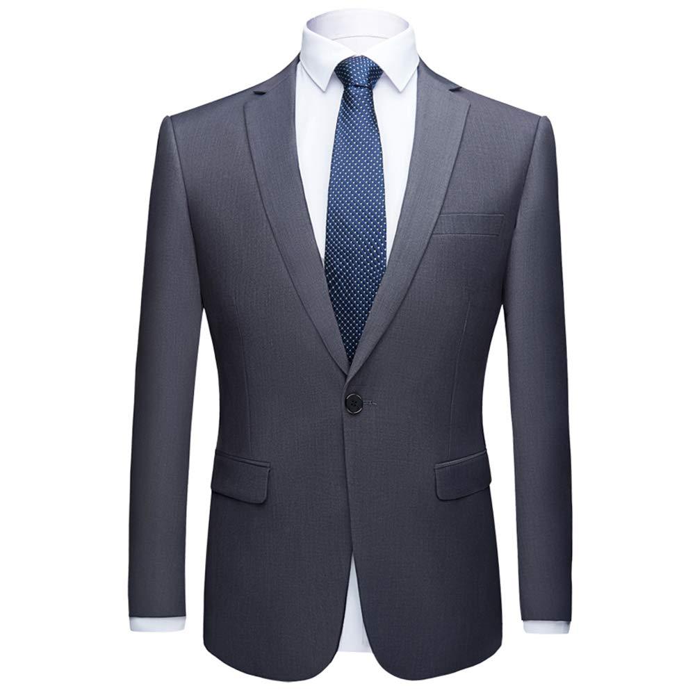 Beninos Mens Slim Fit Blazer Jacket Casual One Button Suit Coat