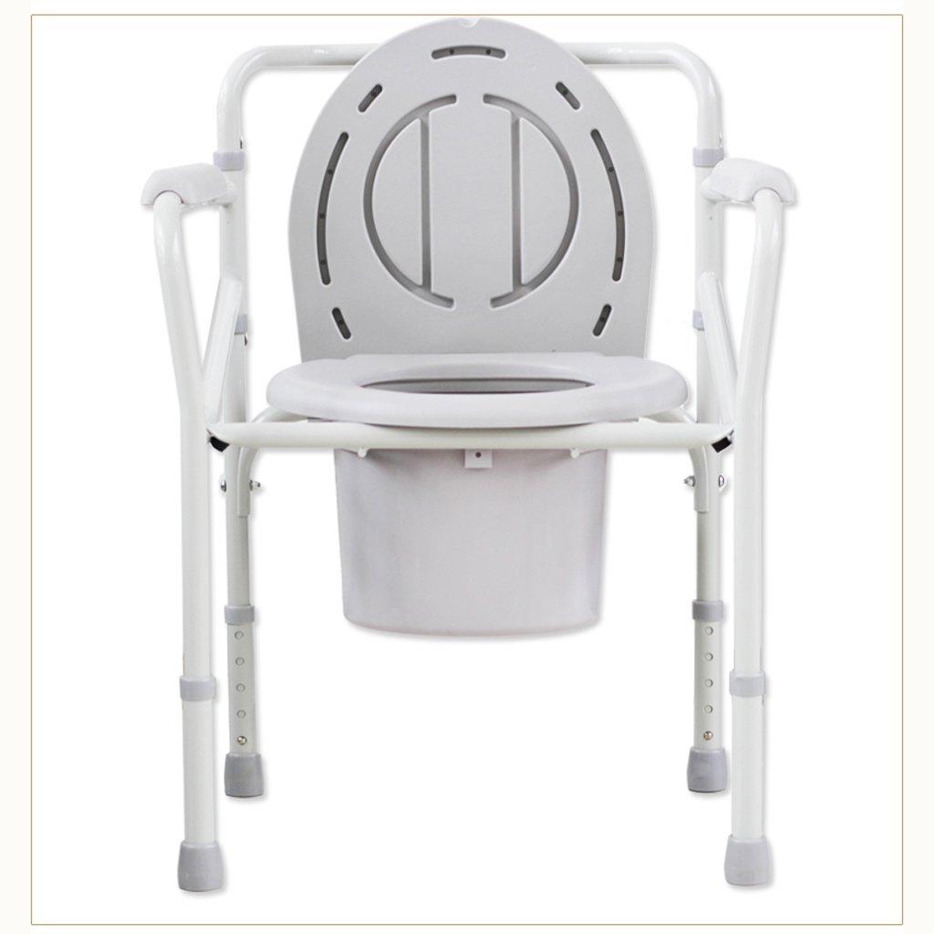 Shariv-シャワーチェア トイレシート高齢者高齢者高齢者障害者用スチールチューブバスチェアトイレ B07DR5XV88