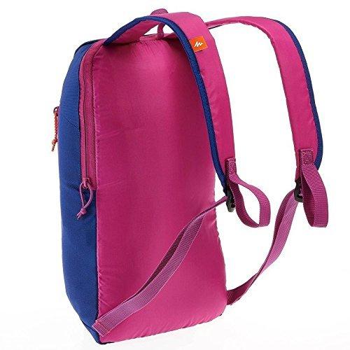 Quechua Arpenaz Wandern bag-10Ltr (Kleine Größe Tasche, nicht gedacht für Durchführung Laptop) blau/violett