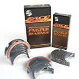 New BK8296HX-1 With Extra Oil Clearance (0.025mm/0.001) ACL Race Performance Main Rod Bearing Set (52mm Rod Journal & Thrust in #5 Position) for Subaru WRX STi EJ205 EJ257 EJ20 EJ25