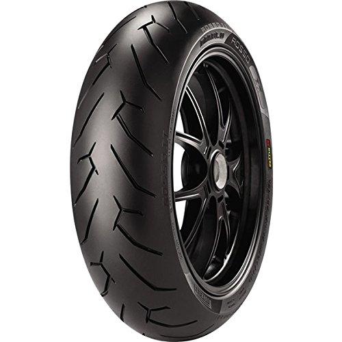Pirelli DIABLO ROSSO II Street Sport Motorcycle Tire - 160/60ZR17 69W by Pirelli