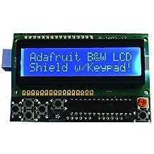 ADAFRUIT INDUSTRIES - 772 - LCD SHIELD KIT, 16x2 BLUE/WHITE DISPLAY, ARDUINO