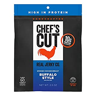 Chef's Cut Tender Real Chicken Jerky, Buffalo Style, 2.5 Ounce