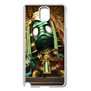Samsung Galaxy Note 3 Cell Phone Case White League of Legends Pharaoh Amumu GYV9438028