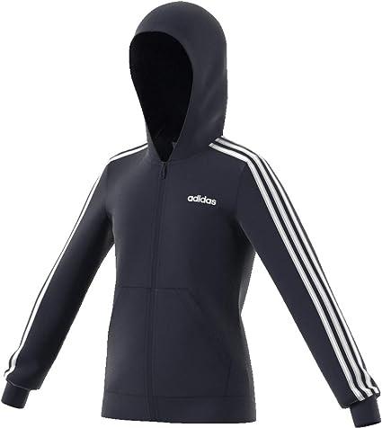 adidas Essentials 3 Bandes Veste à Capuche pour garçon 110