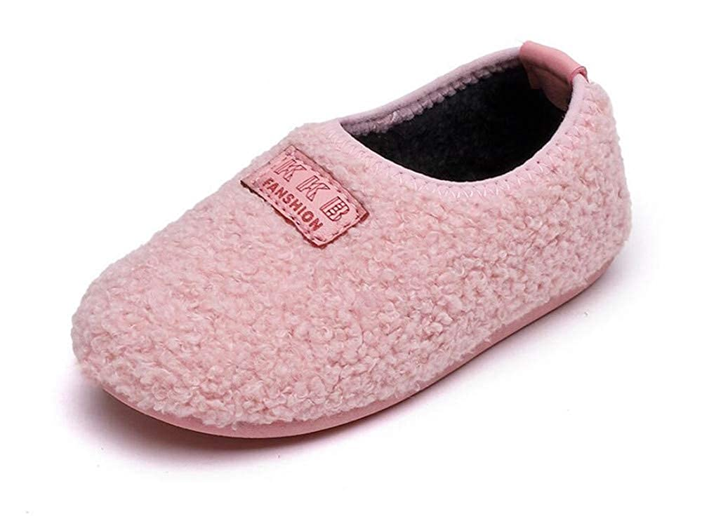 Elcssuy Kids House Slippers Household Soft Comfortable Anti-Slip Indoor Outdoor Bedroom Slippers for Girls and Boys Toddler//Little Kid