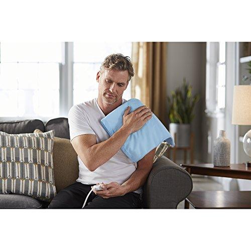 Sunbeam Heating Pain Size UltraHeat, Settings | Light Blue,