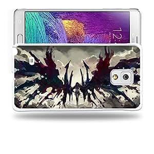 dagongsi Designs Puella Magi Madoka Magica MadokaHomura Akemi Protective Snap-on Hard Back Case Cover for Samsung Galaxy Note 4