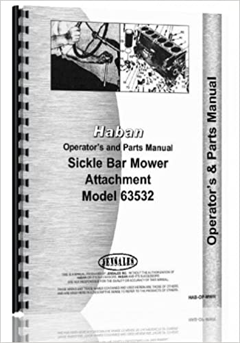 Haban 4' & 5' Sickle Bar Mower Attachment Operators & Parts
