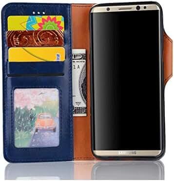 Samsung Galaxy S8 Plus case Phone Wallet Case Credit Card Protector