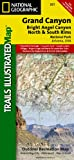 Map Grand Canyon Bright Az, Trails Illustrated Staff and Other Publisher Map Staff, 1566954959