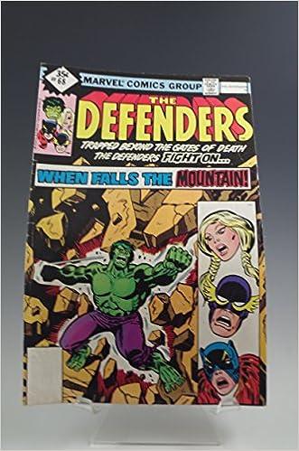 THE DEFENDERS #68 MARVEL COMICS BOOK VINTAGE 1978