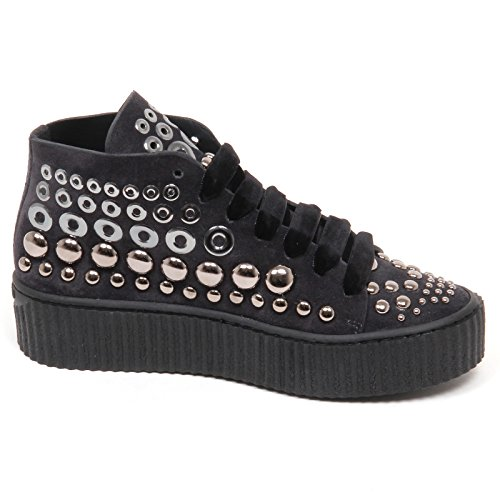 Shoe Scuro E6862 Scarpe Borchie Grigio Bolsena Grey Sneaker Donna Dark Pinko Woman pqxdwPF8p