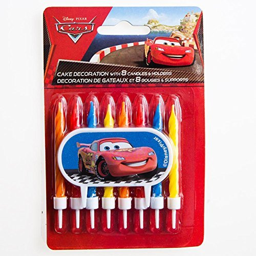 Disney's Cars Cake Decoration with Candles