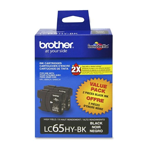 Brother MFC-6490CW Black Ink Twin Pack (OEM) 900 Pages Ea.