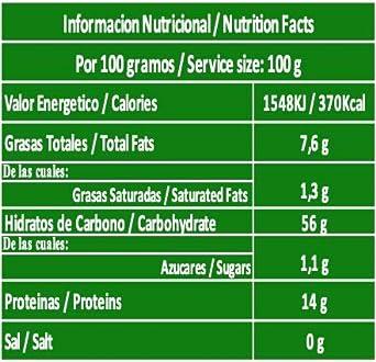 Harina de Avena Integral Ecológica (550 gramos): Amazon.es: Alimentación y bebidas