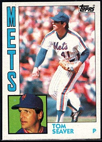 Seaver Tom Card (Baseball MLB 1984 Topps #740 Tom Seaver Mets)
